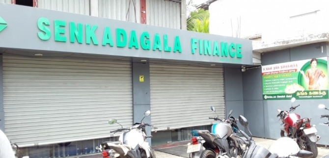 Rs.1.7mn robbed from a finance company in Jaffna