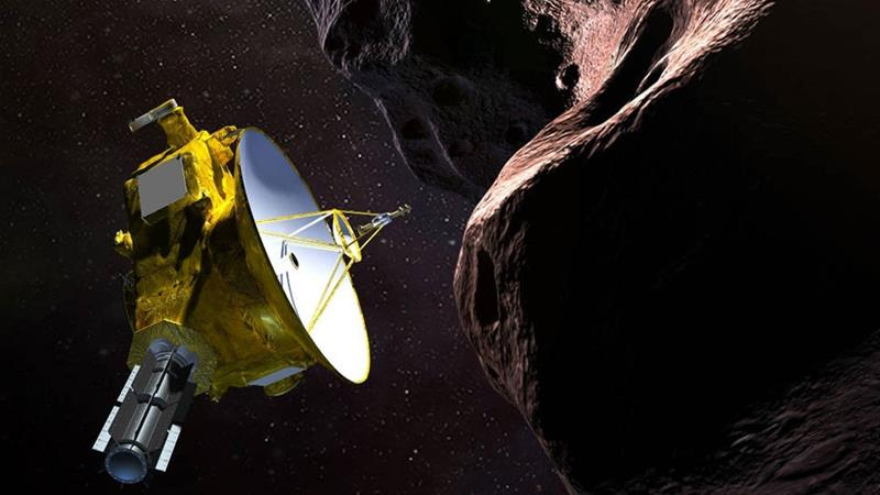 NASA spacecraft survives risky encounter with faraway dark world