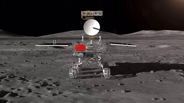CHINA LANDS SPACECRAFT ON FAR SIDE OF MOON