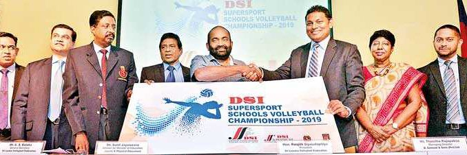 19th DSI Supersport Schools Volleyball Championship kicks off in April
