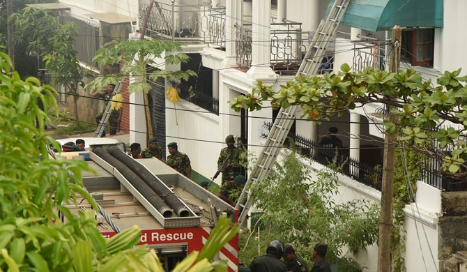 Suicide bombings family member missing: Father had contact with Mahinda