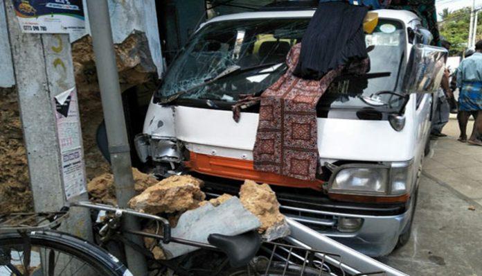 Hiyas van entered into a textile shop in Jaffna