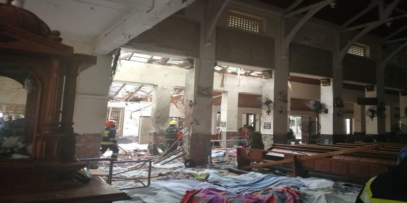 IS claims responsibility for attacks in Sri Lanka