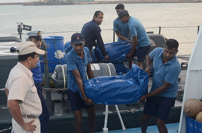 Two arrested while smuggling 245 kg of Kerala cannabis by boat