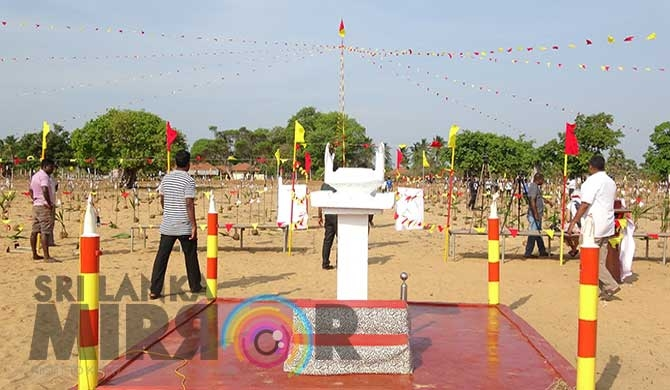 Mulliwaikkal commemoration held amidst tight security