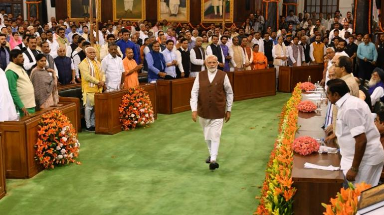 PM Narendra Modi, council of ministers to take oath at 7 pm on May 30