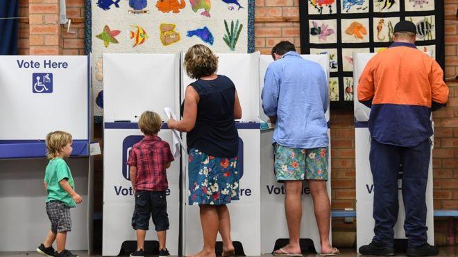 2019 Australia election: Polls open for 'generational' vote