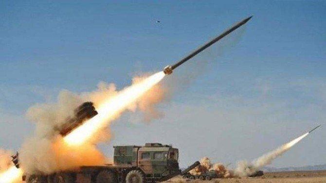 Saudi Arabia's air defense forces shot down five Houthi drones aimed at Asir region