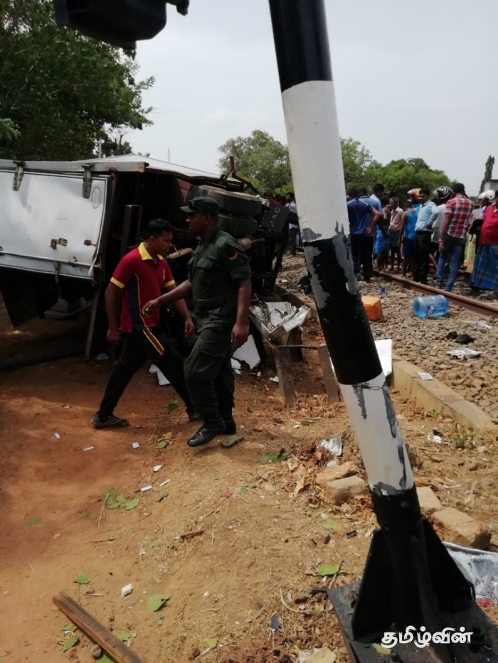 4 soldiers killed in Kilinochchi train accident