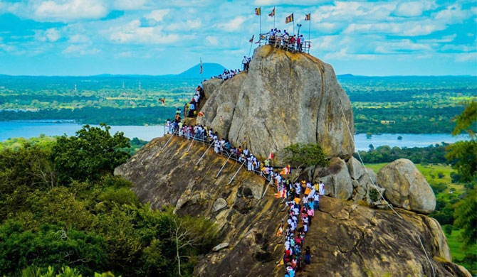 Mihintale to be declared as a national heritage site