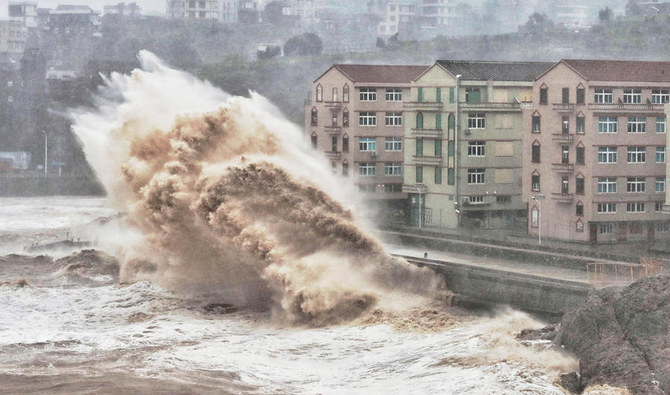 Typhoon leaves 22 dead in China, 10 still missing