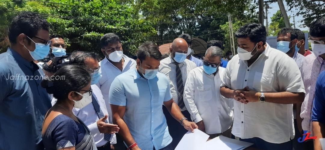 International Football matches to be held in Jaffna- Namal Rajapakse