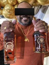 Tamil anti-social elements spoil Tamils' national emblem in Canada!