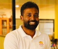 The first Srilankan Tamil to speak in the Assembly of Olympic Committee ! Sivarajah Gobinath from Urumpirai!!
