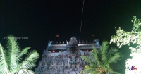 A paradise Lamp on South Tower of Thillai Sithamparam for spiritual peace of Mappana Mudaliyar!